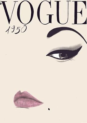 Vogue vintage Real Canvas Home Decor Wall Art gallery Quality  quality