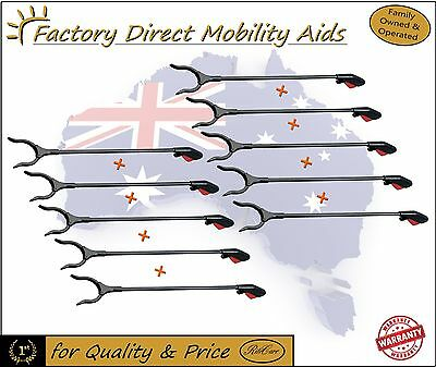 10 X  Reacher Grab stick - Pick up Stick NEW Grabbit Mobility aids New Packaged