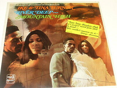 Ike & Tina Turner Stereo LP River Deep Mountain High  Phil Spector