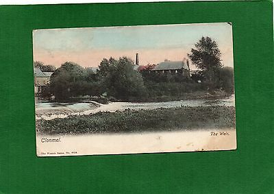 Vintage Postcard Clonmel The Weir Ireland posted 1905