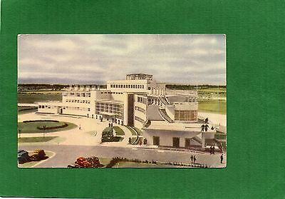 Vintage Postcard Dublin Airport Terminal Building posted 1955