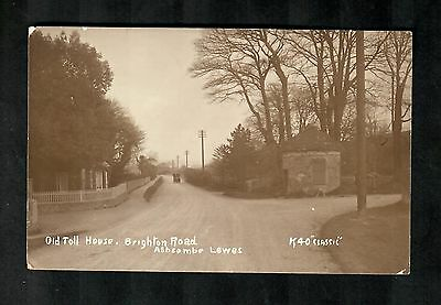 Lewes Old Toll House Brighton Road Ashcombe Rp 1912