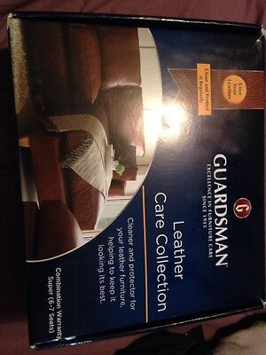 Guardsman Leather Care Collection (super 6-7 Seater). Freepost C52