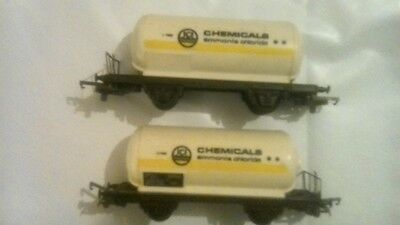 LIMA Tank Wagon ICI Chemicals Chloride OO Scale.X 2