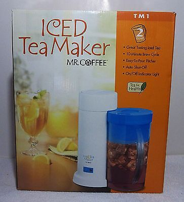 The Iced Tea Maker Mr. Coffee Two QT New In Box