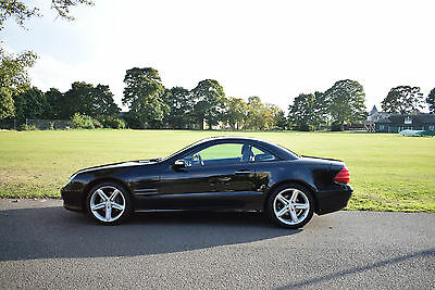 2004 Mercedes SL350 Auto Black 3.7