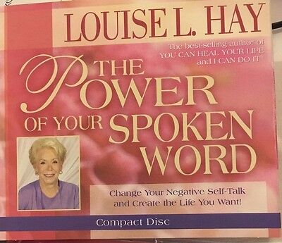 CD - Louise L Hay - THE POWER OF YOUR SPOKEN WORD