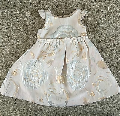 Baby Gap party pretty wedding party Dress. 12-18 Months