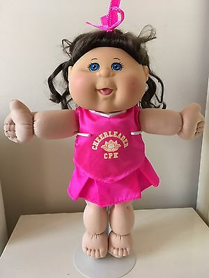 Cabbage Patch Girl - Jakks Pacific, Curly Brown Hair, Blue Eyes