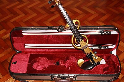 ****Brand NEW | early STRAUSS DVGE-500 Electric Violin made in KOREA |Yamaha****