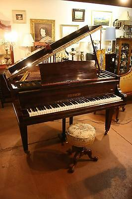A Vintage Baby Grand Piano by 'Julius Feurich' C.1920's