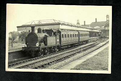 Bexhill West Station With Train Rp ( Non Postcard Back )