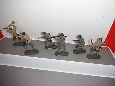 Britains Deetail Ww2 American Infantry Six Figures