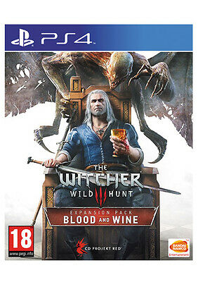 Witcher 3  Blood And Wine  Expansion Add On  Dlc Code  Sony  Ps4  Uk + Europe