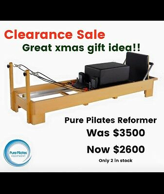 Pilates reformer - by Pure Pilates Equipment