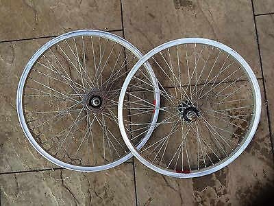 Vintage BMX Wheels, Front And Rear