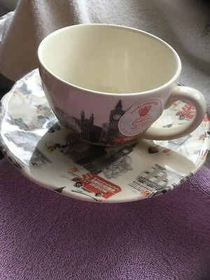 New micky in london cup and saucer from Cath Kidston limited eddition .
