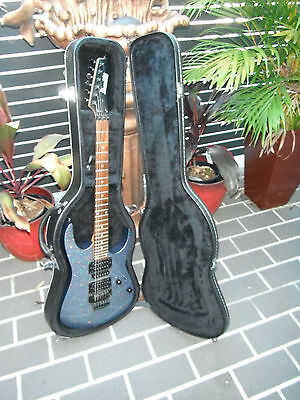 Electric Guitar and hard case