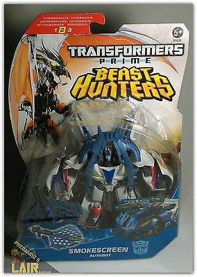 Transformers Prime Beast Hunters Smokescreen MOSC NEW SEALED