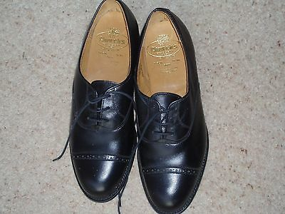 Churches Womens Black Brogue lace up shoe size 2