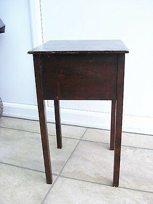 Sewing Box Vintage  Dark Wood Shabby Chic Project