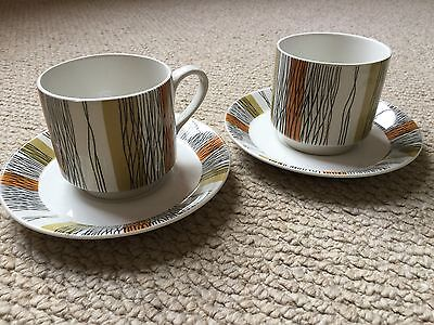 Midwinter Sienna Jessie Tait Pair Of Cups And Saucers