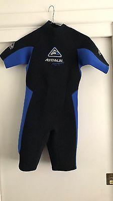 Adrenalin Junior Wetsuit Spring suit Size 14. Worn Once! Unisex