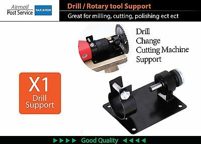 Electric drill Rotating tool stand support Stable milling cutter polishing press