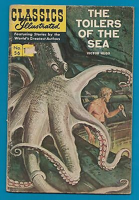 Classics Illustrated Comic 1949 Toilers of the Sea by Victor Hugo #849
