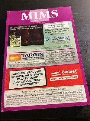 MIMS abbreviated issue 3 2013 soft cover reference book