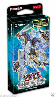 YUGIOH Shining Victories Special Edition Pack (Crystal wing/Sage/Blue eyes)