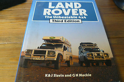 Landrover The Unbeatable 4X4. Fab Hardback With Over 230 Photo's.