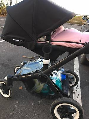 Bugaboo Buffalo Underseat Basket Raincover, In Clear Waterproof Fabric