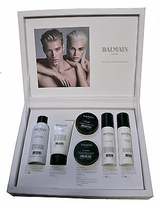 £99.95 BALMAIN Styling Hair Gift Set Kit 2 New in Presentbox UNISEX