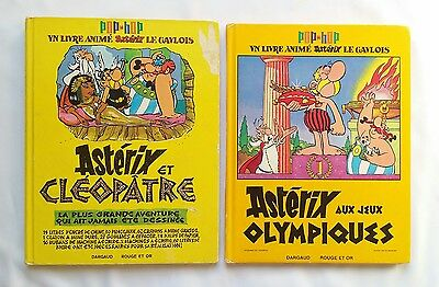 Lot BD - Asterix POP HOP / EO / GOSCINNY & UDERZO / DARGAUD ROUGE & OR