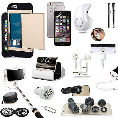 Case+Charger+Wireless Earphone+Headphones With Mic+Fish Eye+Stick For iPhone 7
