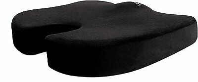 Cush Comfort Memory Foam Seat Cushion-Spinal Alignm't Back pain relief (Normal)