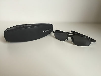 TAG Heuer Mens Sunglasses with case