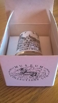Thimble- Collectable Chartwell china thimble in original box