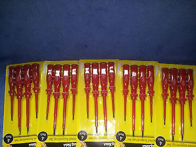 Job lot of 5 Sets of Insulated Screwdrivers Resale Wholesale