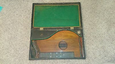 Franz Schwarzer 1878 Zither with Original Case
