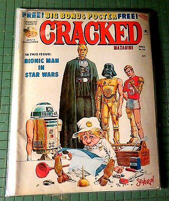 Cracked Magazine No 149 March 1978  Vintage  Mag Bin 1