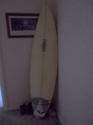 """Surfboard DHD -  6'4"""" x 18 1/2"""" x 2 3/8"""" - used - VGC -"""