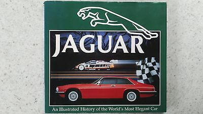 Jaguar  The Illustrated History Book By Roger Hicks