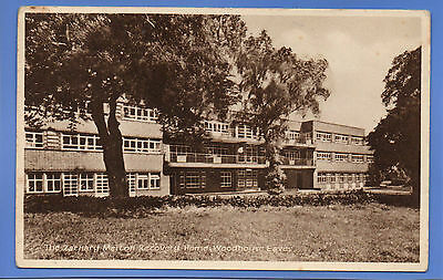 Vintage Postcard The Zachary Merton Recovery Home Woodhouse Eaves Leicestershire