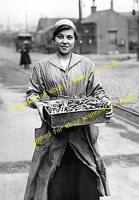 WW1 photo - Woolwich Royal Arsenal munitions factory, March 1918 (11)