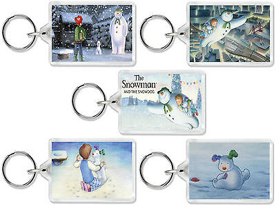 The Snowman And The Snowdog Classic Christmas Dvd Movie Keyrings Uk Seller