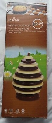 BN Crofton Chocolate Moulds - 3D Easter Egg Mould