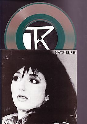 Kate Bush 7 Inch RED Vinyl Record - 1986 Interview