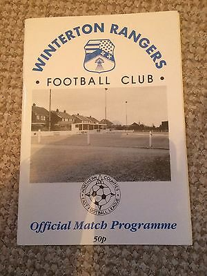WINTERTON RANGERS v SCUNTHORPE UNITED FRIENDLY 28/07/1997